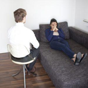15277281 - woman at psychoanalysis