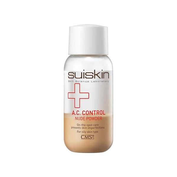 Dung dịch chấm mụn đặc trị mụn sưng đỏ, viêm SUISKIN A.C Control Nude Powder 40ml